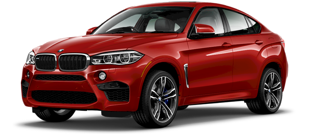New 2017 BMW X6 M