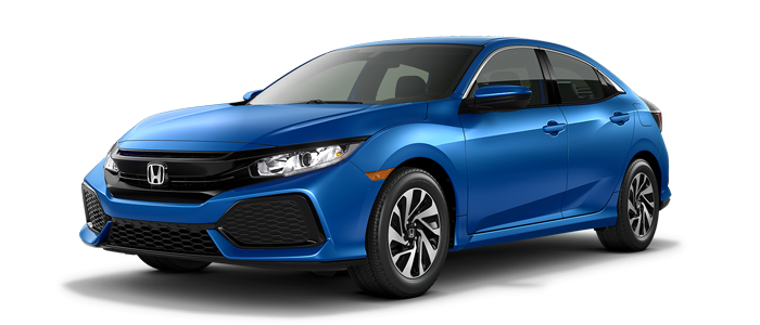 New 2018 Honda Civic Hatchback LX Automatic