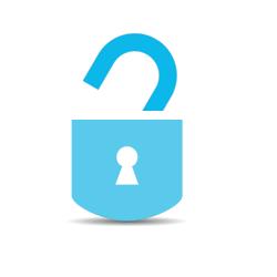 WCAG Image of open padlock