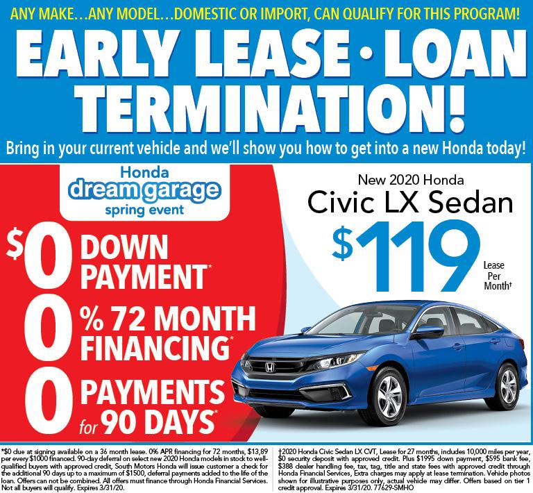 Honda Civic Triple Zero Offer