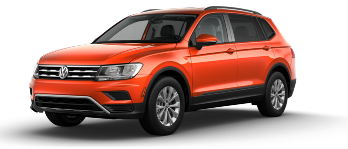 New 2018 Volkswagen Tiguan S